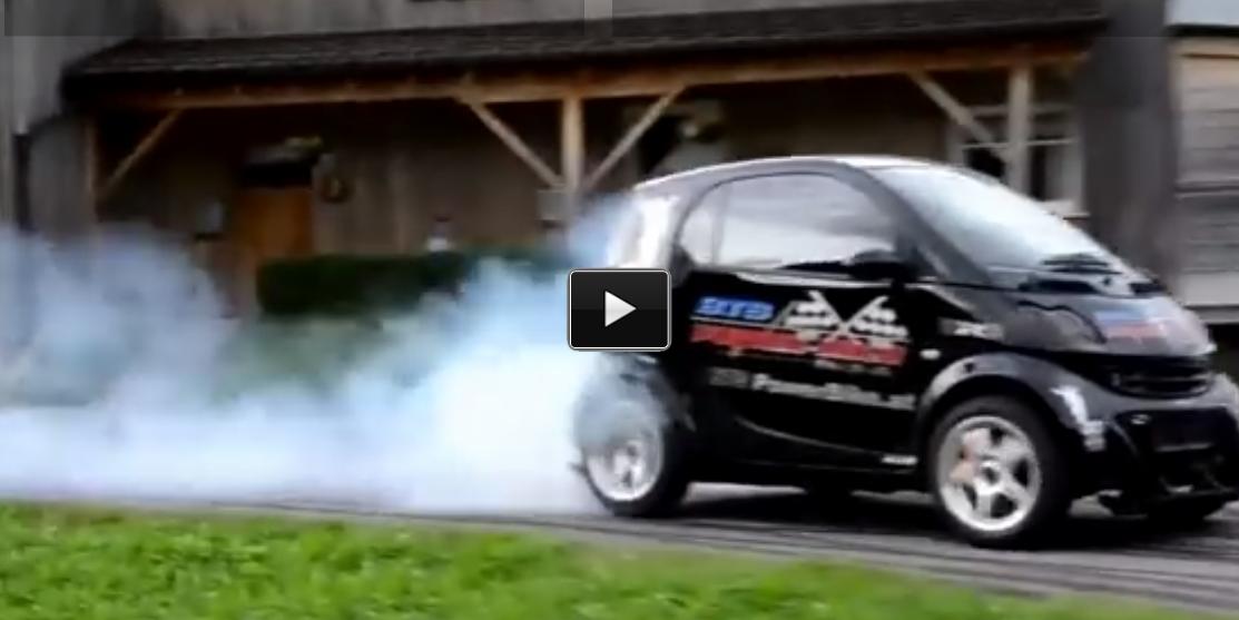hayabusa turbo engine smart car smoke