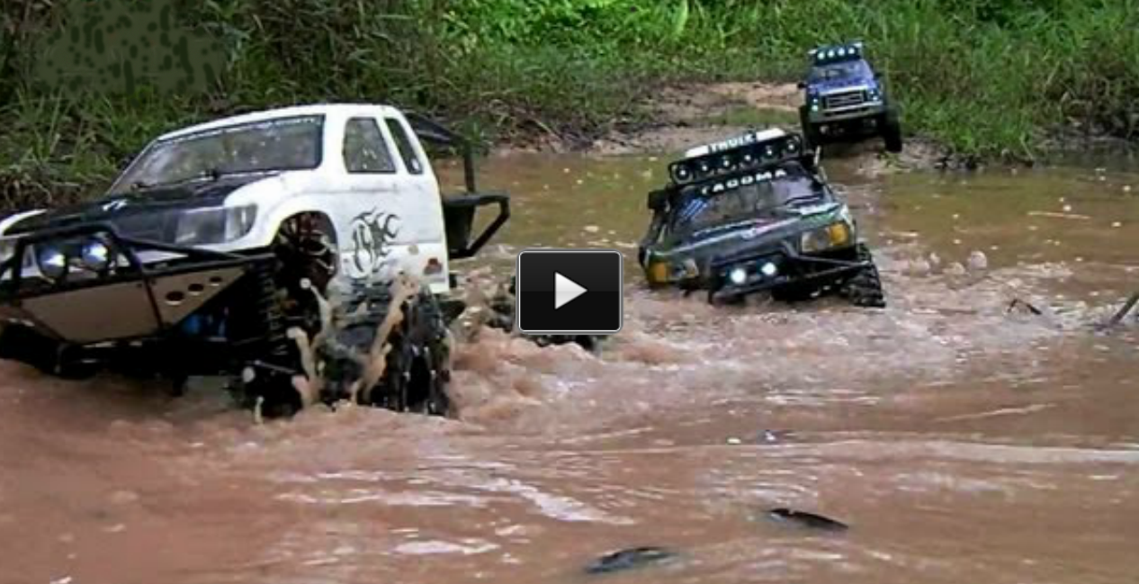 gggg RC Truck Mud Bogging