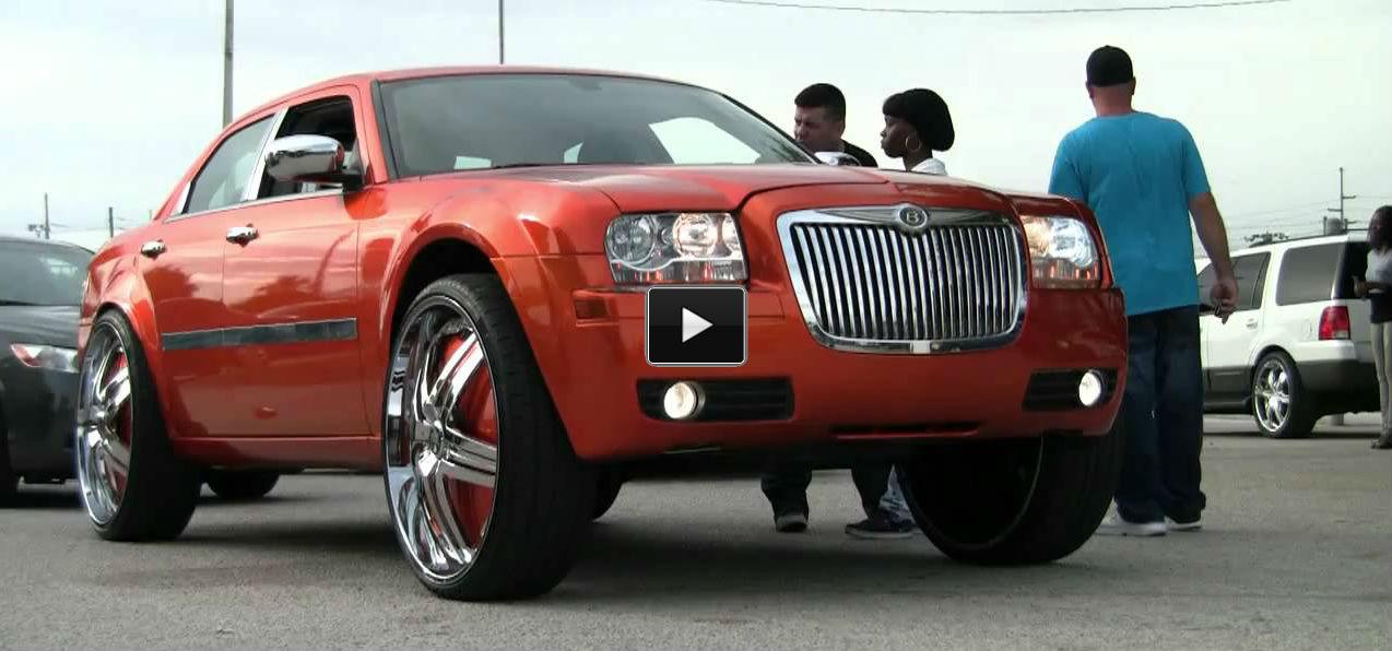 Chrysler 300 DUB DELUSION RIMS