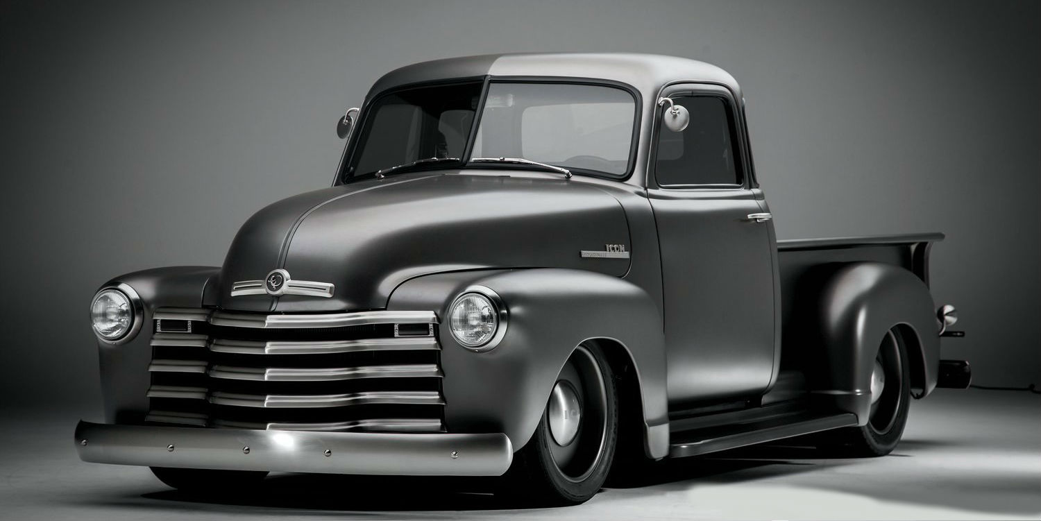 Chevy Pickup ICON Thriftmaster  Styling Icon in the World of Classic