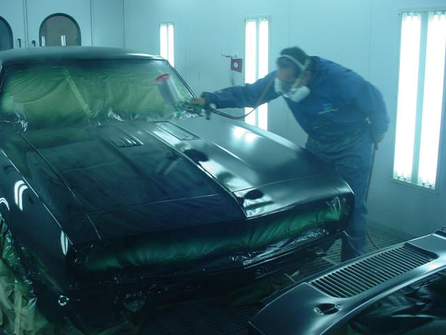 1968-Camaro-Resoration-rear-booth-painting-frnt-21S