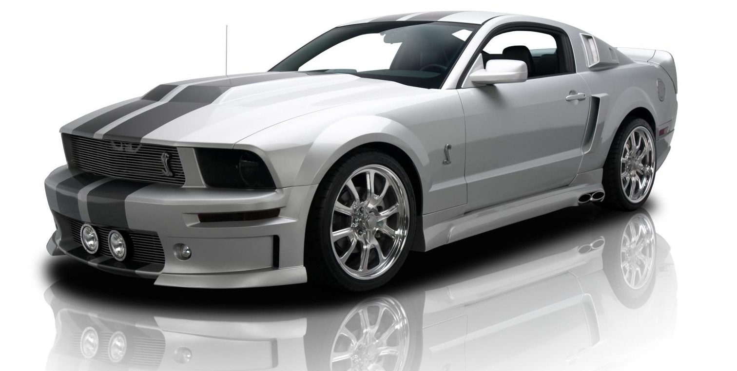 dramatic 2007 ford mustang eleanor edition by rk motors. Black Bedroom Furniture Sets. Home Design Ideas