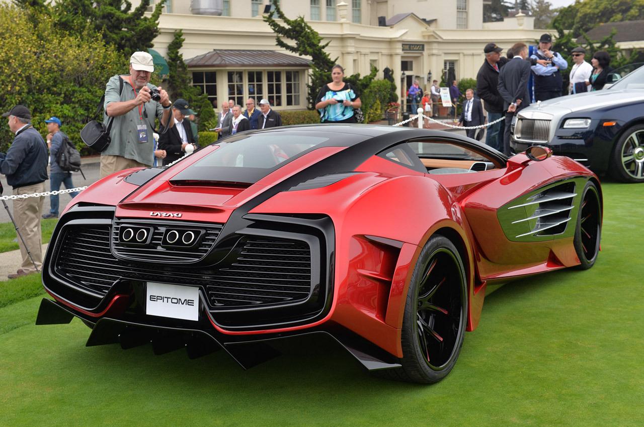 1 750 Bhp Laraki Motors Epitome Concept Arrives At Pebble