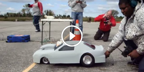 Rc dragster pro stock custom nitrous with 90cc engine it for How much is a motor for a car