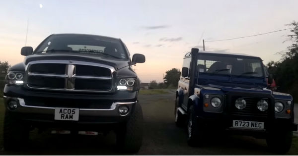 engine ford chevy to road off dodge view fire how front pickup ram z magazine diesel photo comparision comparison