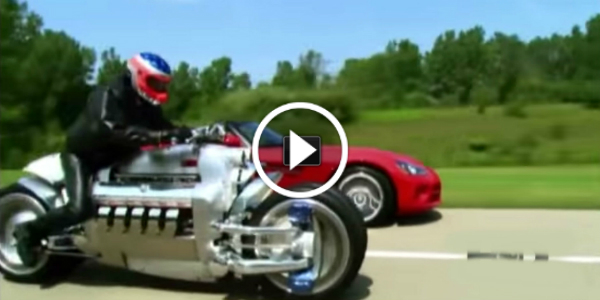 Drift Cars For Sale >> Dodge Tomahawk VS Dodge Viper! + Test Drive VIDEO! You Don ...