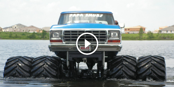 Monster Trucks Monster Power Monster Mud Compilation