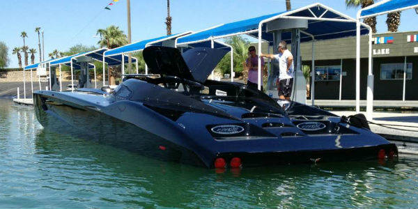 ZR48 CORVETTE BOAT