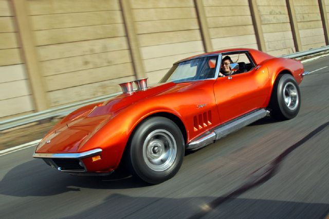 Chevrolet Corvette Side View Muscle Cars Zone