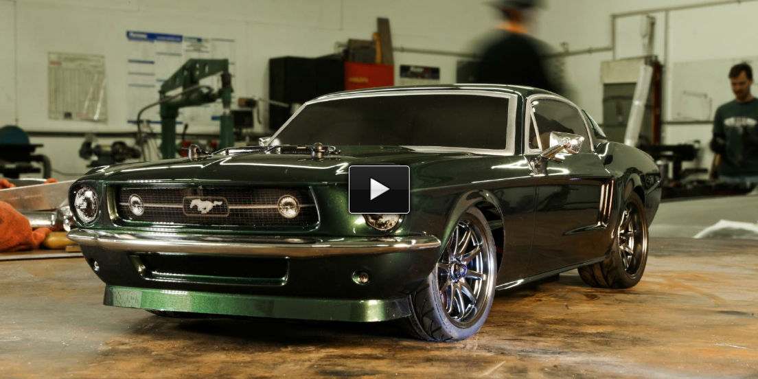 RC Ford Mustang 1967