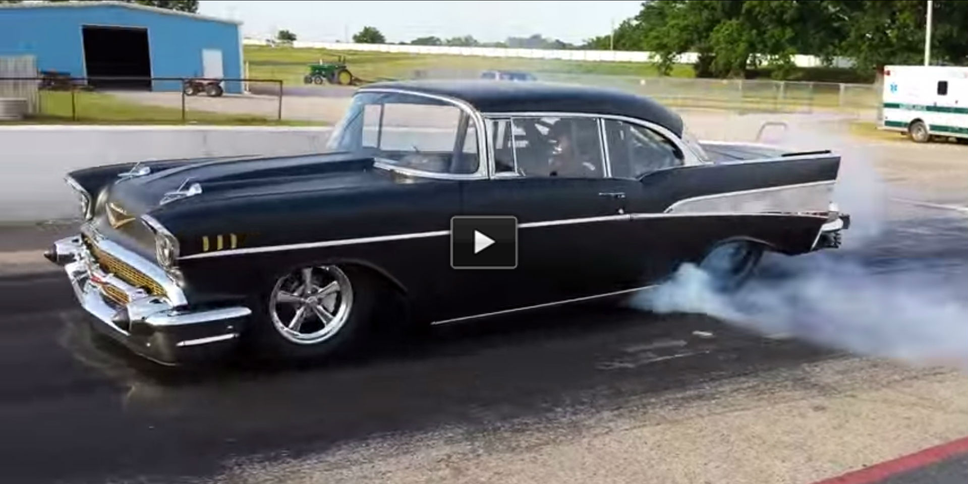 dfcDF Black 1957 Chevy