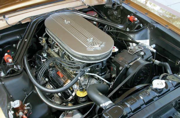 Hoonigan 65 Mustang Engine
