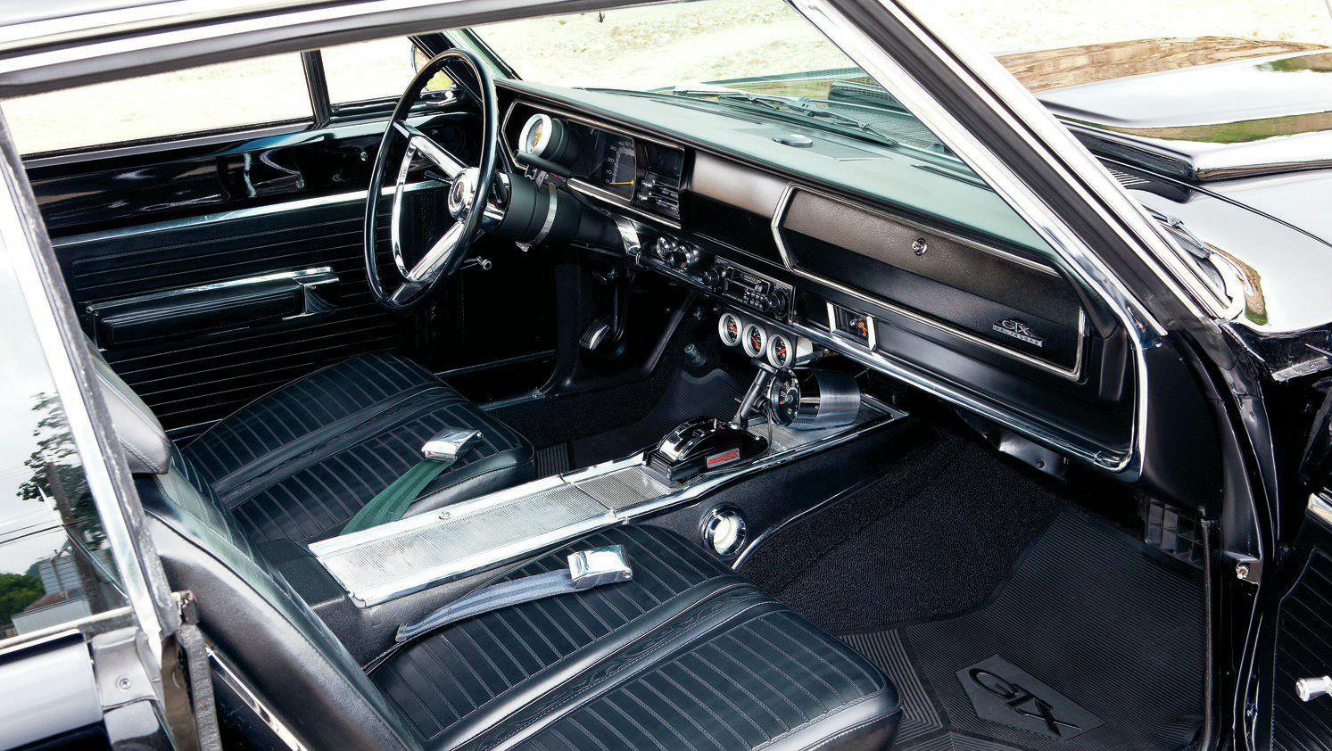 1967 plymouth belvedere gtx interior muscle cars zone. Black Bedroom Furniture Sets. Home Design Ideas