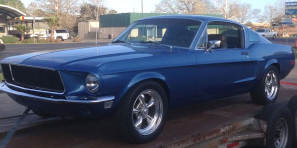 1968 electric mustang