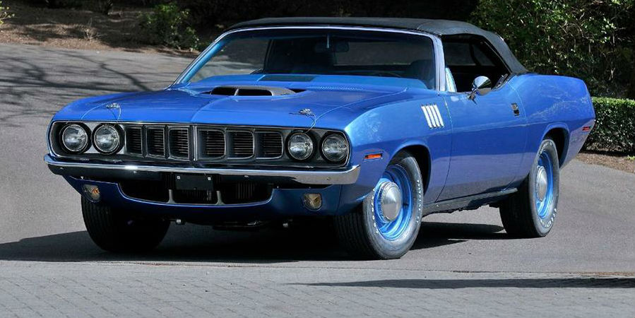 1971-Plymouth-Hemi-'Cuda-mecum-auctions-classic-convertible-sale-four-speed-