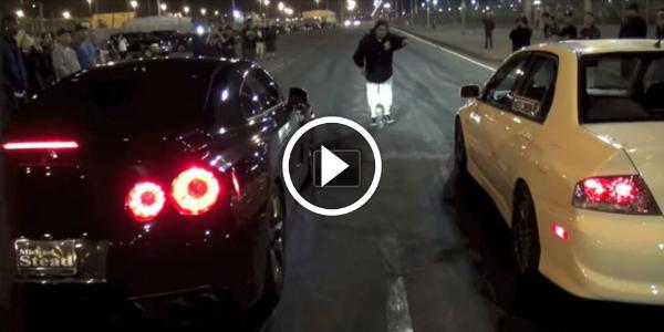 Nissan GTR vs LSX Camaro SS vs EVO vs Nitrous Ls1 Camaro vs C5 Z06 vs Pontiac GTO! 2