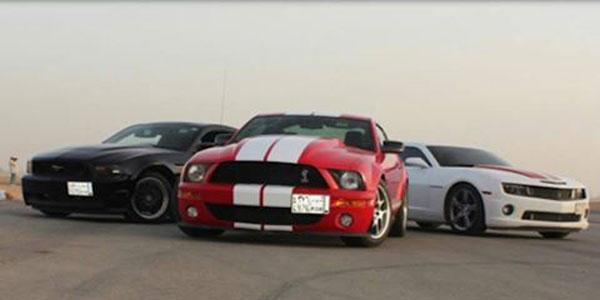 Saudi car culture