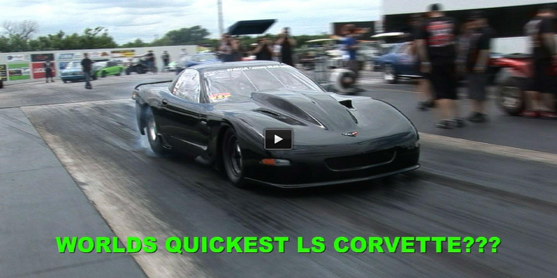 fastest corvette ls ever built 185mph on 1 8 mile. Black Bedroom Furniture Sets. Home Design Ideas