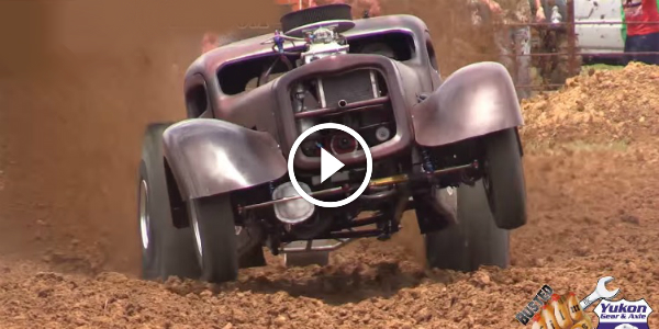 1600HP Outlaw Prostock Mud Racer 4WD Rat Rod! DEMONIC SCREAM 41!