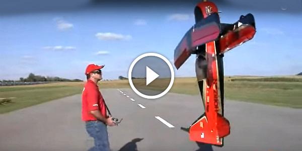 Beast RC Airplane pilot