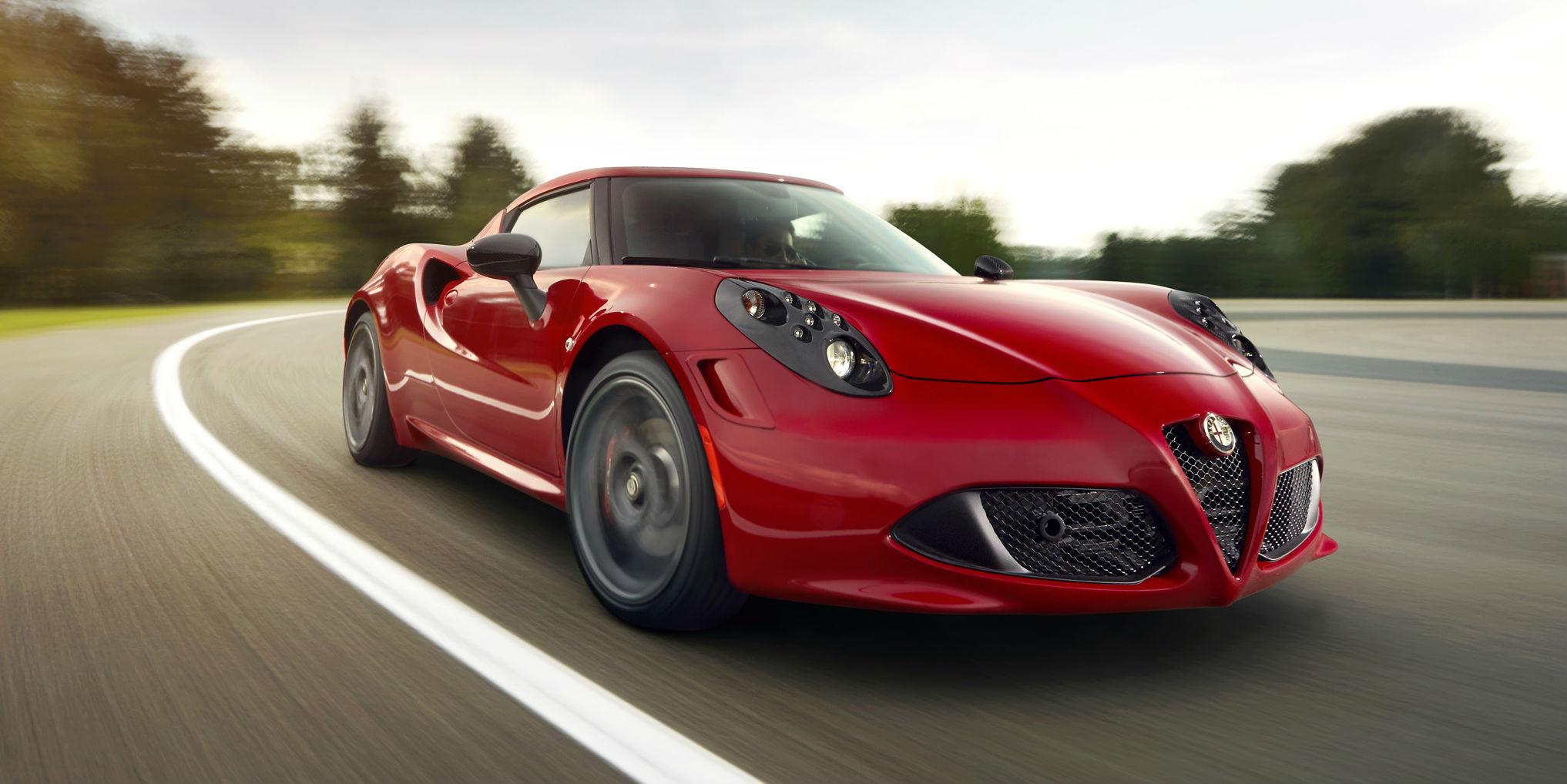 Alfa Romeo 4C Test Drive