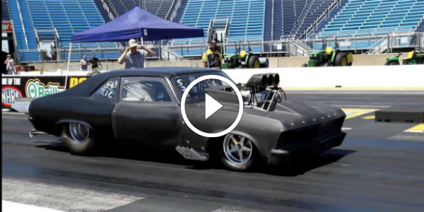 AWESOME Fast Chevy Nova! Man That Thing Is EVIL! RIP Headphone Users!    Muscle Cars Zone!