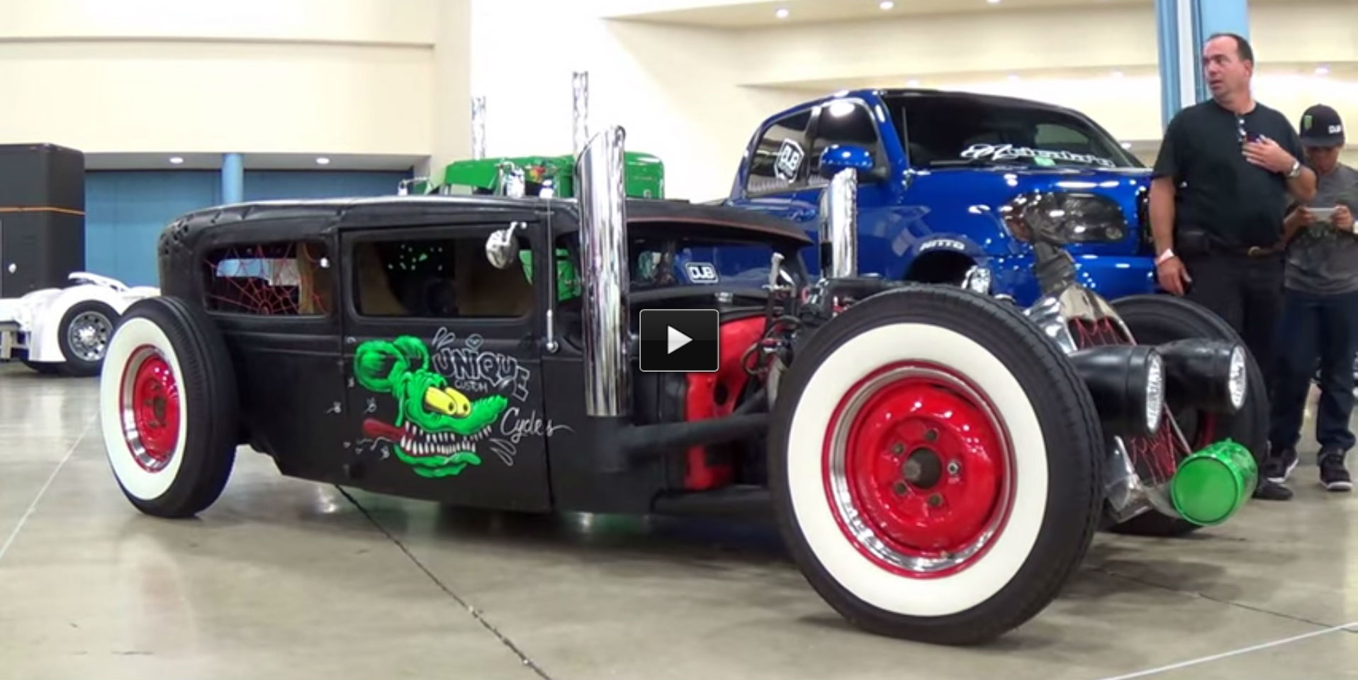 Funny Rat Rod miami 2014