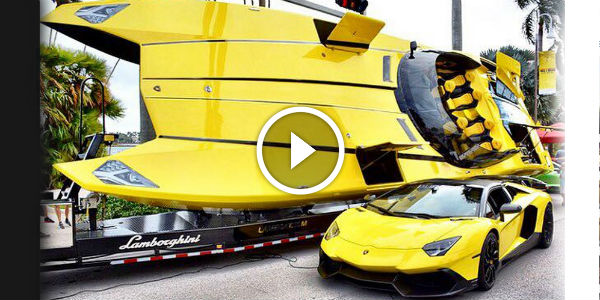 Need A Super Boat To Go With Your Lambo Aventador 1 3 Million
