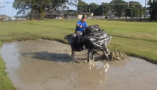 Mud Hole Challenge ATV Mudding vehicle 2