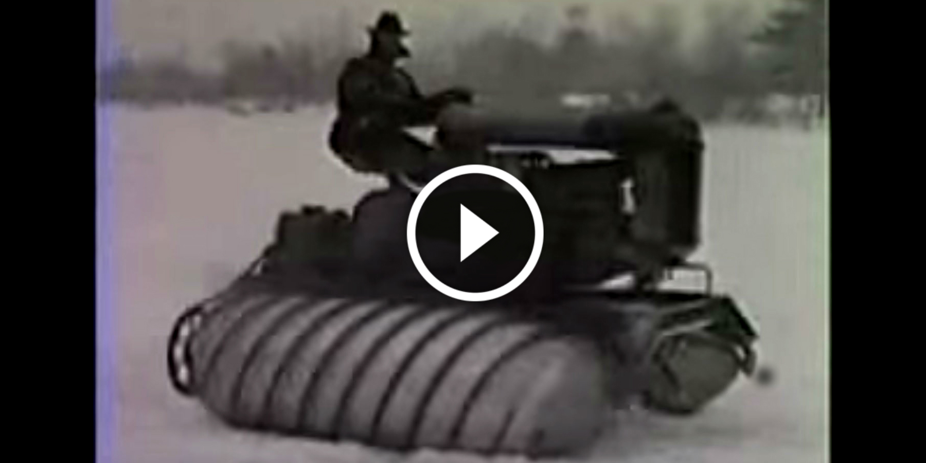 Power Wheels Tractor >> 1926 Armstead Snow Tractor Vehicle! Why They Didn't Develop It?