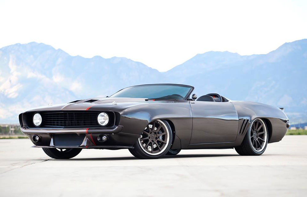 1969 Camaro Z06 Convertible By Weaver Customs Look At