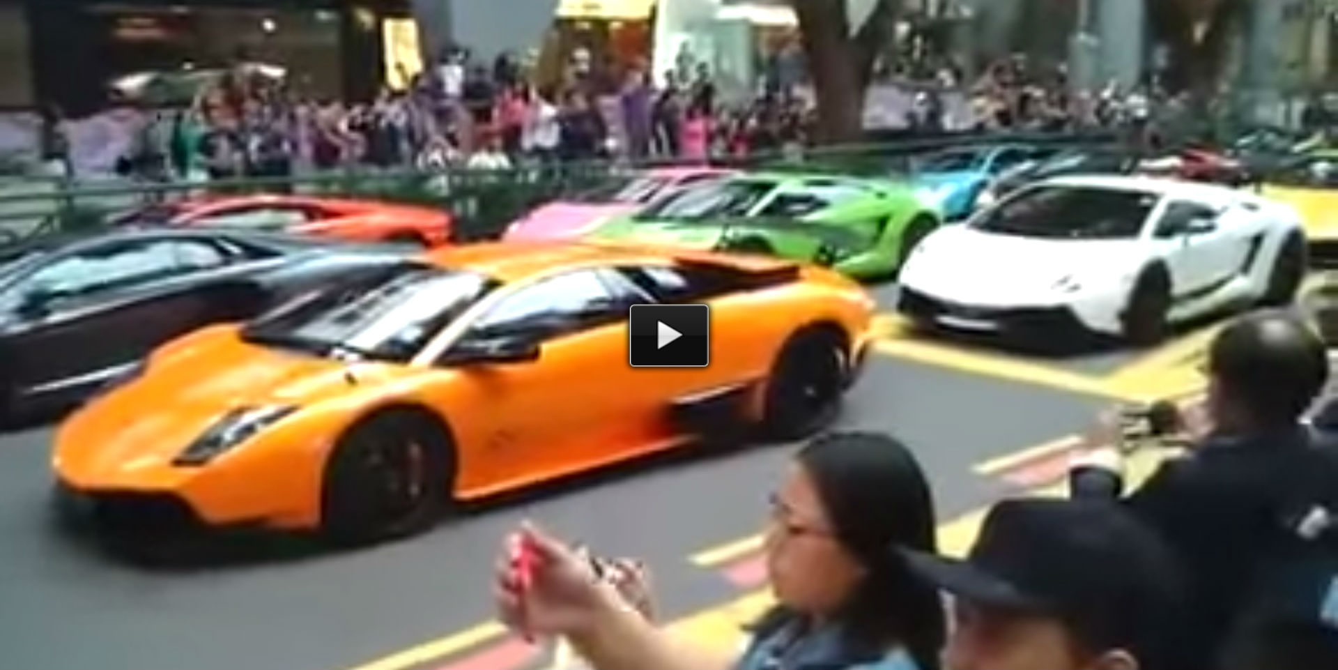 supercars convoy Singapore Traffic