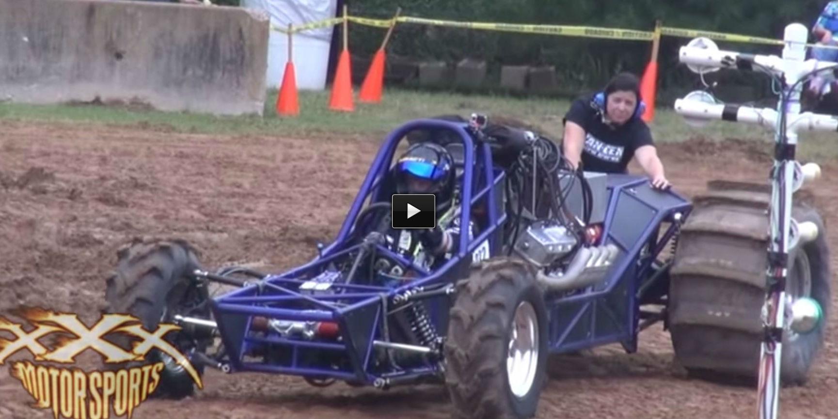 dirt drag racers