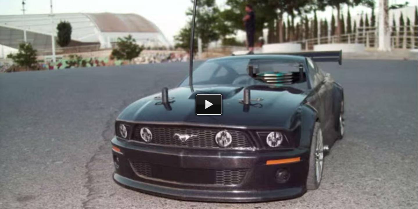 rc nitro car Ford Mustang GT