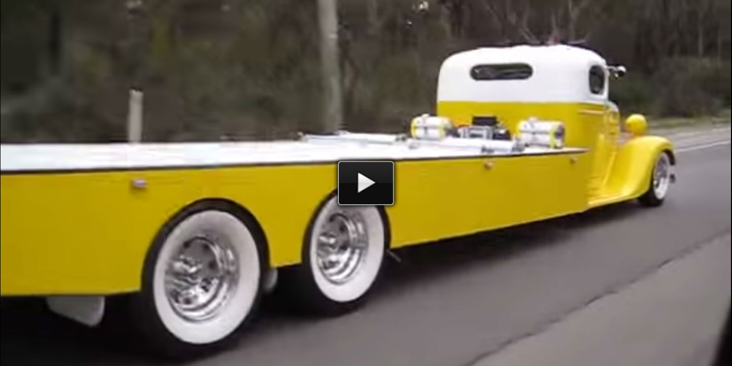 35 Chev Towtruck