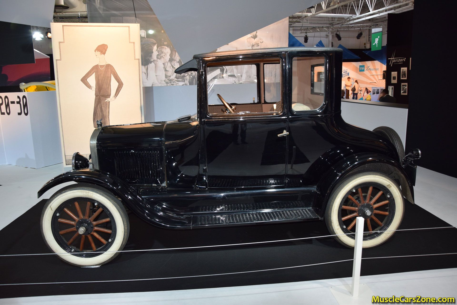 1925 ford model t coupe 2014 paris motor show 9 muscle. Black Bedroom Furniture Sets. Home Design Ideas