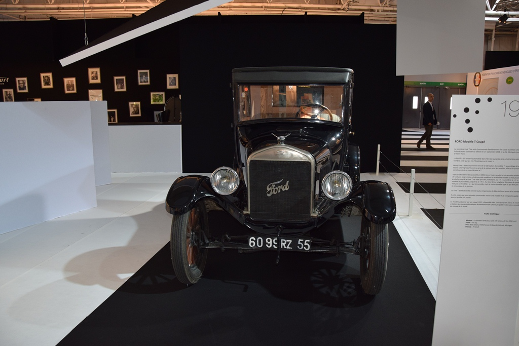 1925 ford model t coupe paris motor show 2014 muscle. Black Bedroom Furniture Sets. Home Design Ideas