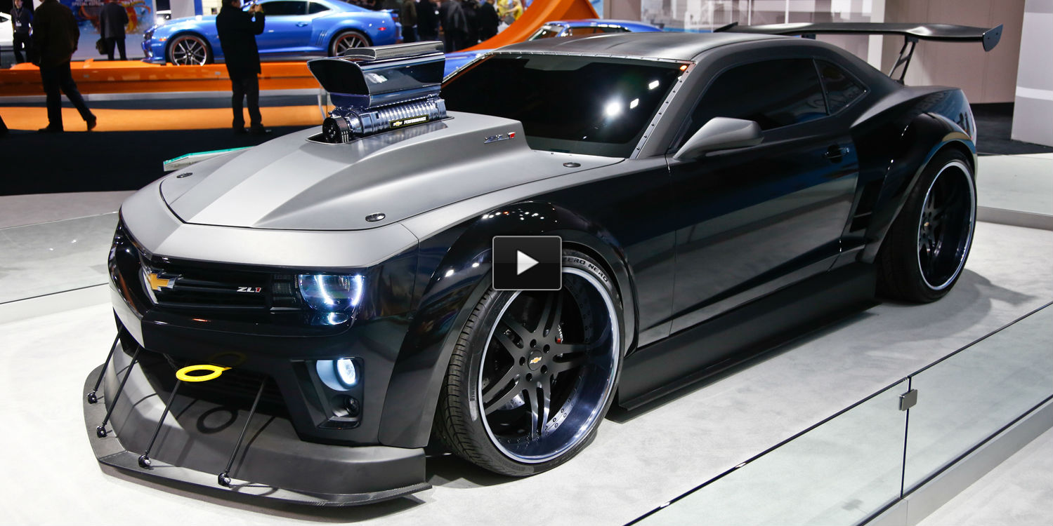 Do You Remember This Highly Modified 2013 Camaro Zl1 Turbo