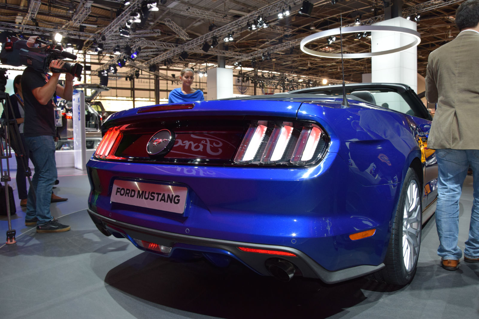 2015 Ford Mustang On Paris Motor Show 2 Muscle Cars Zone