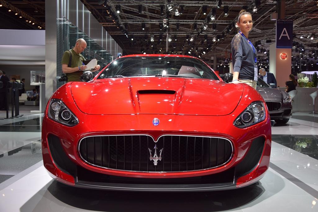 2015 Maserati GranTurismo MC Stradale 1 2014 Paris Motor Show 2