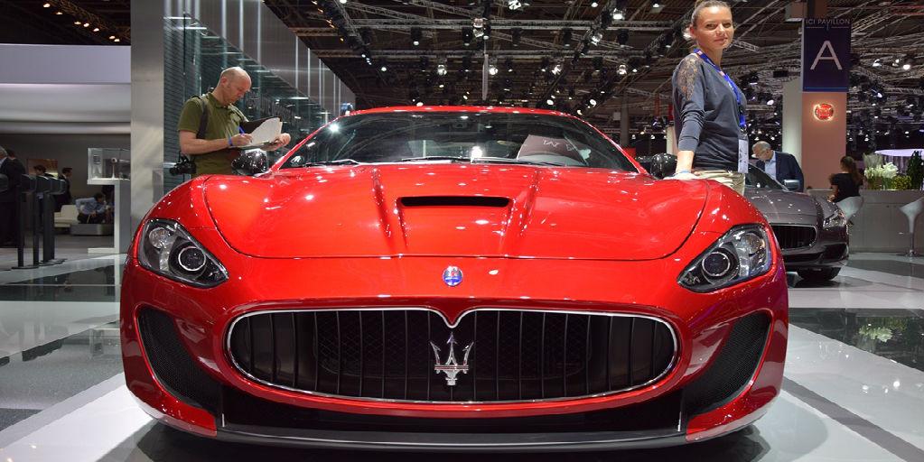 2015 Maserati GranTurismo MC Stradale 1 2014 Paris Motor Show COVER