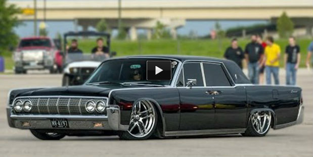 the meanest dirtiest 1964 lincoln continental this car is breathtaking. Black Bedroom Furniture Sets. Home Design Ideas
