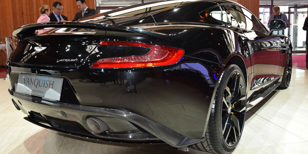 ASTON MARTIN VANQUISH Carbon Edition - Paris Motor Show 2014 cover