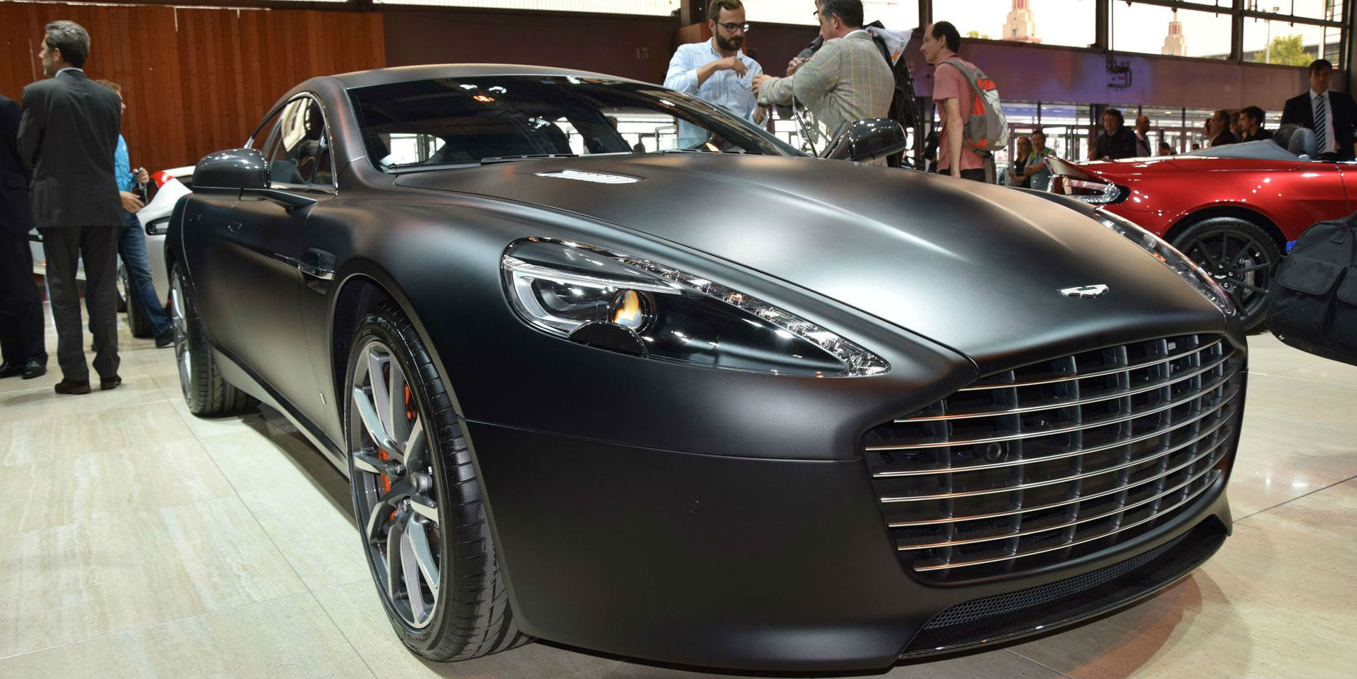 new Aston Martin Rapide S 2014 Paris Motor Show 6