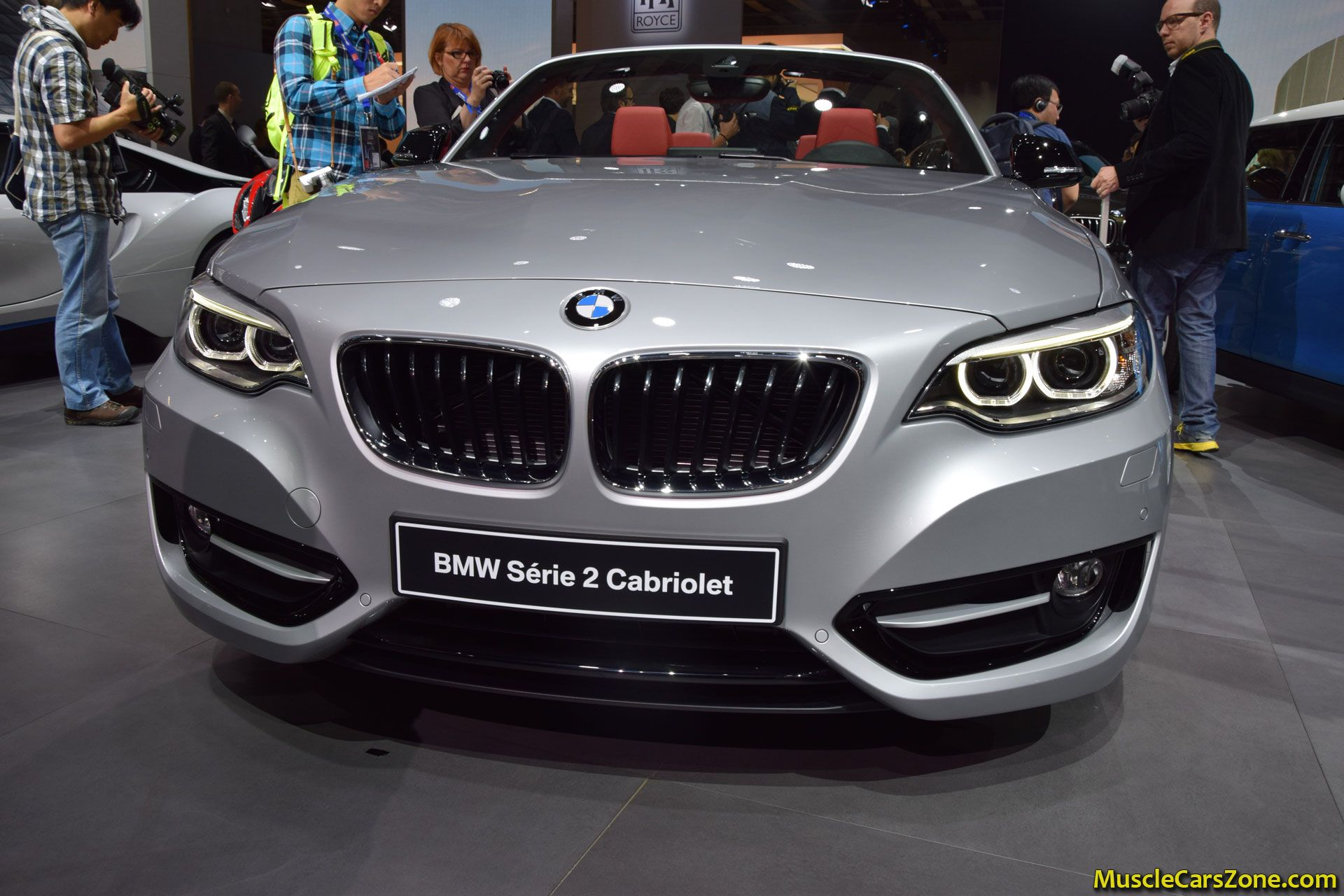 bmw serie 2 cabriolet 2014 paris motor show 1 muscle cars zone. Black Bedroom Furniture Sets. Home Design Ideas