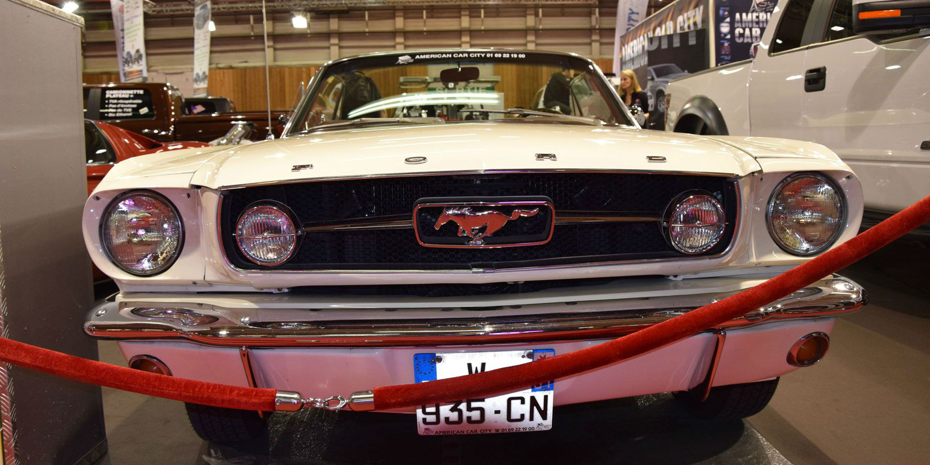 Classic 1964 Ford Mustang Convertible 2014 Paris Motor Show 9