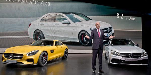 Mercedes at Paris