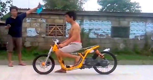 No Shirt No Helmet Flip Flops Powerful Scooter 24