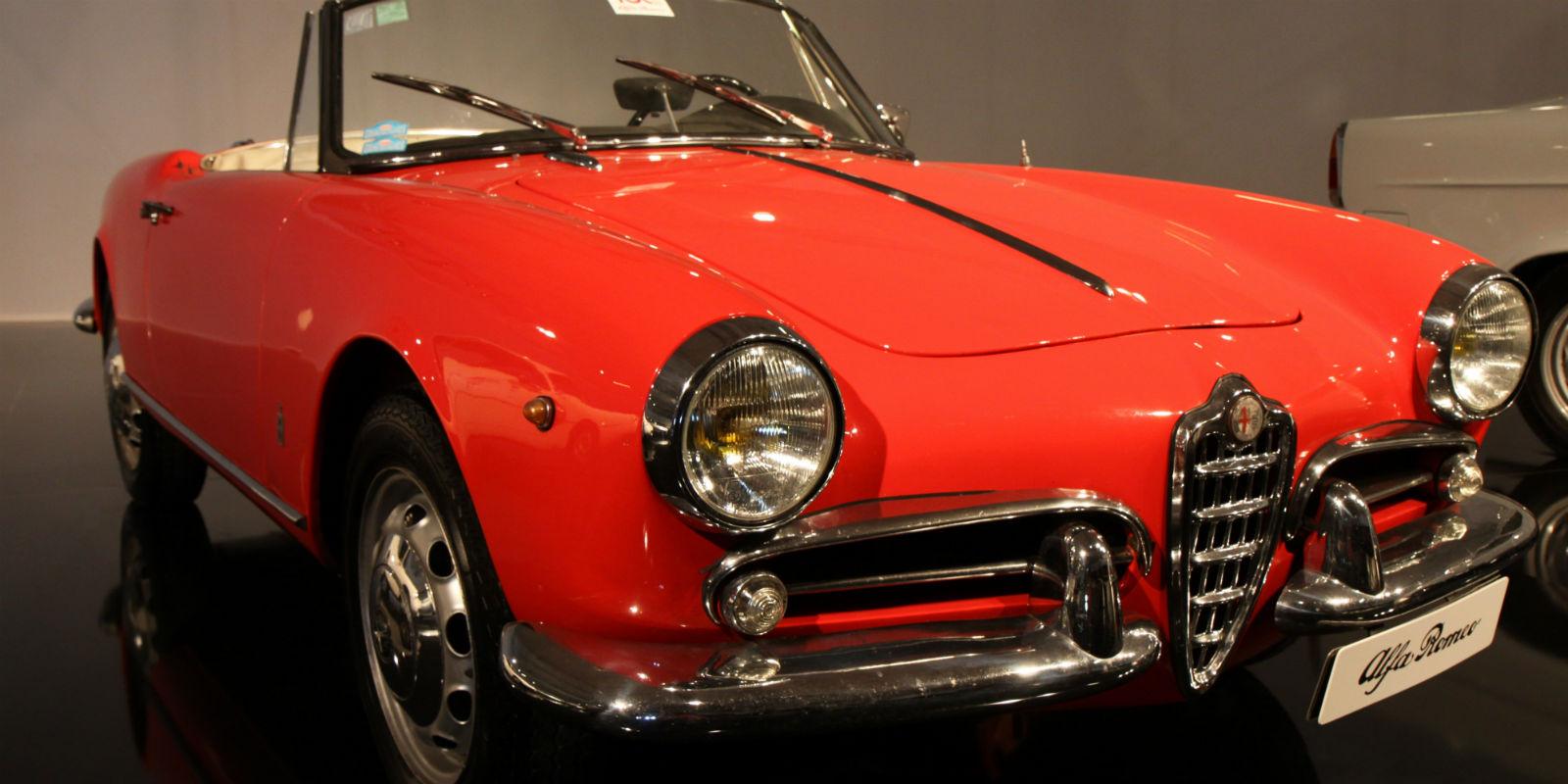 1954 Alfa Romeo Giulietta paris motor show