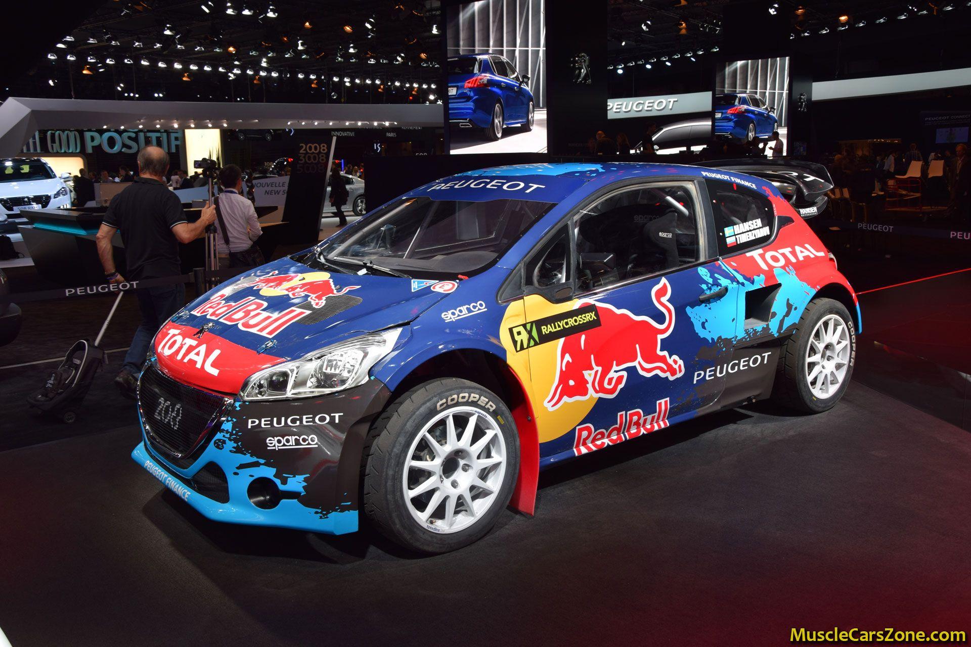 Peugeot 208 WRC 2014 Paris Motor Show 14 - Muscle Cars Zone!